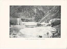 Ponte Sulla Meduna A CAVASSO NUOVO  Pordenone - Tavola Fotografica  Del 1919 - Riproduzioni