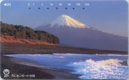 Telefonkarte Japan -  Gebirgslandschaft - 111-030 - Gebirgslandschaften