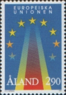 Aland 1995 EU European Union Europa - Ingresso Aland Nella Unione Europea 1v Complete Set ** MNH - Aland