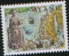 Aland 1995 Saint Olav Joint Issue Faroer - San Olav Emissione Congiunta Con Faroer 1v Complete Set ** MNH - Aland