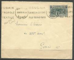 ENVELOPPE FRANCE 1939 AVEC N� 444