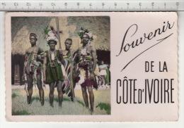Abidjan - Danseur De Man - Souvenir De La Côte D'Ivoire (1957) - Côte-d'Ivoire