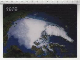 1979 - 2005 Groenland & Pôle Nord ° WWF - Carte 3D - Cartes Stéréoscopiques