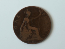 Grande-Bretagne 1 Penny 1905 - 1902-1971 : Monnaies Post-Victoriennes