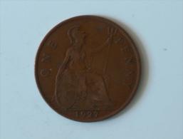 Grande-Bretagne 1 Penny 1927 - 1902-1971 : Monnaies Post-Victoriennes