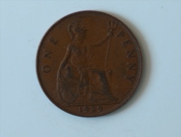 Grande-Bretagne 1 Penny 1929 - 1902-1971 : Monnaies Post-Victoriennes