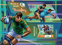 Maldives. 2015 Rugby. (603b) - Rugby