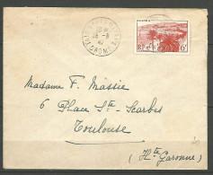 ENVELOPPE  FRANCE 1947 AVEC  N�  777