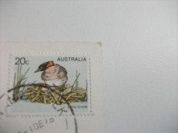 STORIA POSTALE FRANCOBOLLO COMMEMORATIVO Australia Ayers Rock Central Australia - Sin Clasificación