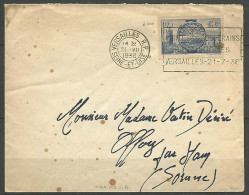 ENVELOPPE 1938 AVEC N� 400
