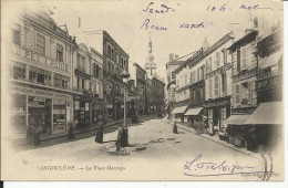 ANGOULEME , La Place Marengo , 1903 , CPA ANIMEE - Angouleme