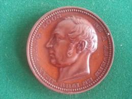 JF Loos, 1859, Bourgemestre Et Representant D´Anvers (Jouvenel, Jos Geens), 95 Gram (medailles0103) - België