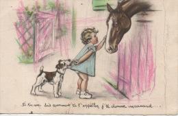 Germaine Bouret 2 Plis Dans La Carte - Bouret, Germaine