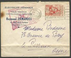 ENVELOPPE 1939 AVEC  N� 428