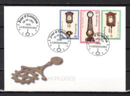 """LUXEMBOURG 1997 : Enveloppe 1er Jour """" HORLOGERIE """" En Parfait état. FDC - Timbres"""