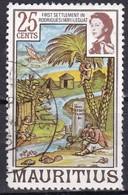 Mauritius, 1978 - 25c 1st Settlement Of Rodrigues, Nr.447 Usato° - Mauritius (1968-...)