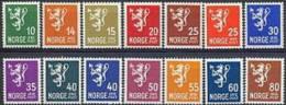 NOORWEGEN 1940-49 Leeuwentype III Zonder WM PF-MNH-NEUF - Norway