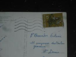 LETTRE YOUGOSLAVIE JUGOSLAVIJA AVEC YT 1014 - FLORE FLEUR MEDICINALE - ROMARIN - - 1945-1992 République Fédérative Populaire De Yougoslavie