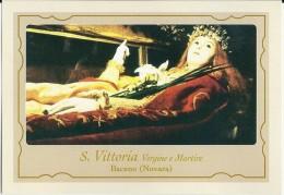 S. VITTORIA  V. E M. -BACENO (NO) - Mm.80 X 115 - SANTINO MODERNO - Religione & Esoterismo