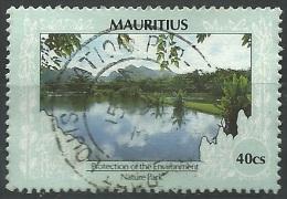 Mauritius, 1989/97 Environmental Protection  40c - Nr.685 Usato° - Mauritius (1968-...)