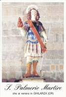 S. PALMERIO M. - GHILARZA (OR)  - Mm.80 X 115 - SANTINO MODERNO - Religion & Esotérisme
