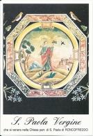 S. PAOLA V. - RONCOFREDDO  -  Mm.80 X 115 - SANTINO MODERNO - Religione & Esoterismo