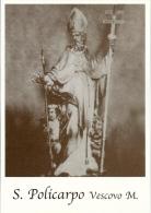 S. POLICARPO V. E M.  -  Mm.80 X 115 - SANTINO MODERNO - Religione & Esoterismo