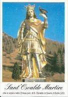 S. OSVALDO M. - SAURIS DI SOTTO (UD)  -  Mm.80 X 115 - SANTINO MODERNO - Religion & Esotérisme