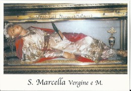 S. MARCELLA V. E M.  -  Mm.80 X 115 - SANTINO MODERNO - Religion &  Esoterik