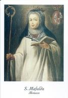 S. MAFALDA, MONACA  -  Mm.80 X 115 - SANTINO MODERNO - Religion &  Esoterik
