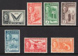 Sarawak - British Commonwealth - 1950 / KGVI - SG171/7 - Selection Of Mounted Mint / MH - Sarawak (...-1963)