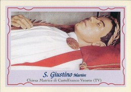 S. GIUSTINO M. - CASTELFRANCO VENETO (TV)  -  Mm.80 X 115 - SANTINO MODERNO - Religione & Esoterismo