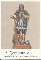 S. GERMANO M. - ALTAVILLA SILENTINA (SA)  -  Mm.80 X 115 - SANTINO MODERNO - Religione & Esoterismo