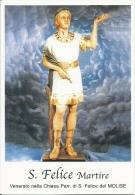 S. FELICE M. - Mm.80 X 115 - SANTINO MODERNO - Religione & Esoterismo