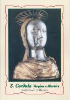 S. CORDULA V. E M. - RIMINI  - Mm.80 X 115 - SANTINO MODERNO - Religione & Esoterismo