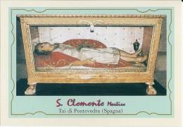 S. CLEMENTINA M. - TUI DI PONTEVEDRA (SPAGNA)  -  Mm.80 X 115 - SANTINO MODERNO - Religion & Esotérisme