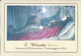 S. BLANDA - FRATTAMAGGIORE (NA) -  Mm.80 X 115 - SANTINO MODERNO - Religione & Esoterismo