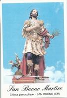 S. BUONO M. - SAN BUONO (CH) -  Mm.80 X 115 - SANTINO MODERNO - Religion & Esotérisme