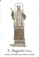S. AUGUSTO, PRETE - RAVENNA -  Mm.80 X 115 - SANTINO MODERNO - Religione & Esoterismo