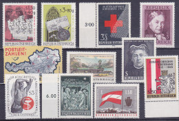 Austria - Ein Bisschen Von Allem - Un Peu De Tout (Red Cross, 1963, 1965...) - 1945-.... 2. Republik