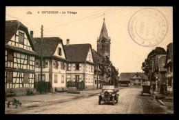 AUTOMOBILES - MATHIS - CACHET GRAND PRIX DE L´ACF 15/16 JUILLET 1922, STRASBOURG SUR CARTE D'ENTZHEIM - Voitures De Tourisme