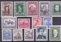 Austria - Ein Bisschen Von Allem - Un Peu De Tout (cheval, Jockey , Kunst...) - 1945-.... 2. Republik
