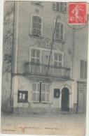 Cpa   83 Var   Meounes  L Hotel De Ville - Sonstige Gemeinden