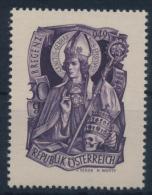**Österreich Austria 1949 ANK 948 Mi 936 (1) Hl. Gebhard MNH - 1945-60 Ungebraucht