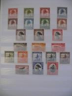 "Congo Belge 1942 ** MNH cob 226/267 ( 41 valeurs ) "" Palmiers "" cat: 73,00 Euro ( scan )"