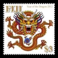 FIJI 2011 -  Année Du Dragon - 1v Neufs // Mnh - Fiji (1970-...)