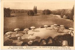 LA FERTÉ ALAIS - La MICHAUDIERE - Hôtel Restaurant - Terrasse - Combier éditeur - La Ferte Alais