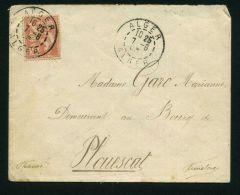 ALGERIE : ENVELOPPE  AVEC  BELLE OBLITERATION  POUR  LA  FRANCE  , C A D  DU  7  JUIN  1903 , A   VOIR . - Algérie (1924-1962)