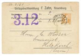 Suisse /Schweiz/Svizzera/Switzerland /Document Pour Hitzkirch - Lettres & Documents