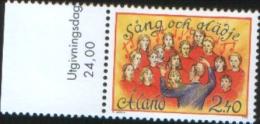 Aland 1996  Song And Music Festival 1v Complete Set ** MNH - Aland